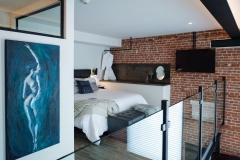 The Metro Suite - Loft Bedroom