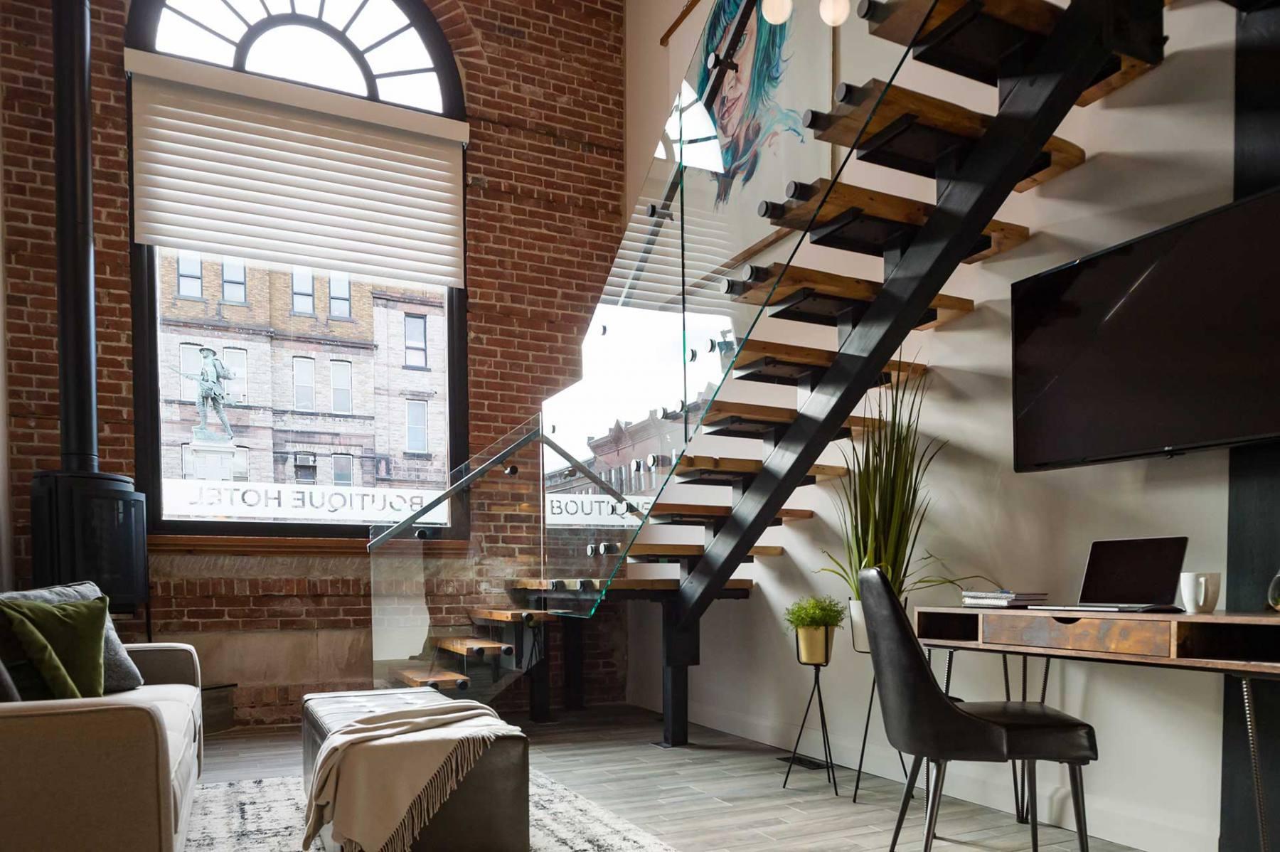 The Nest Suite - Living area