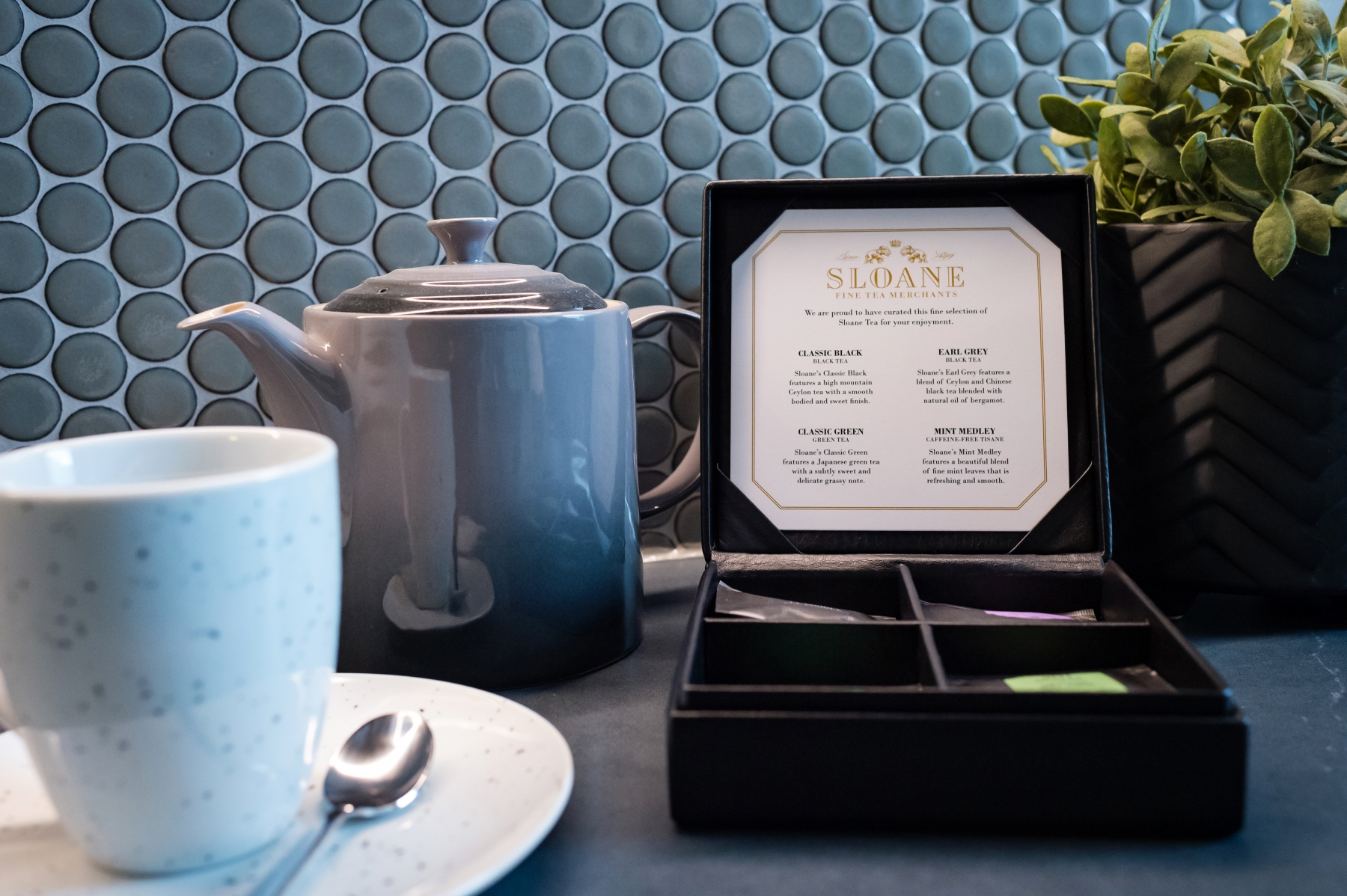 The Nest Suite - Tea time!