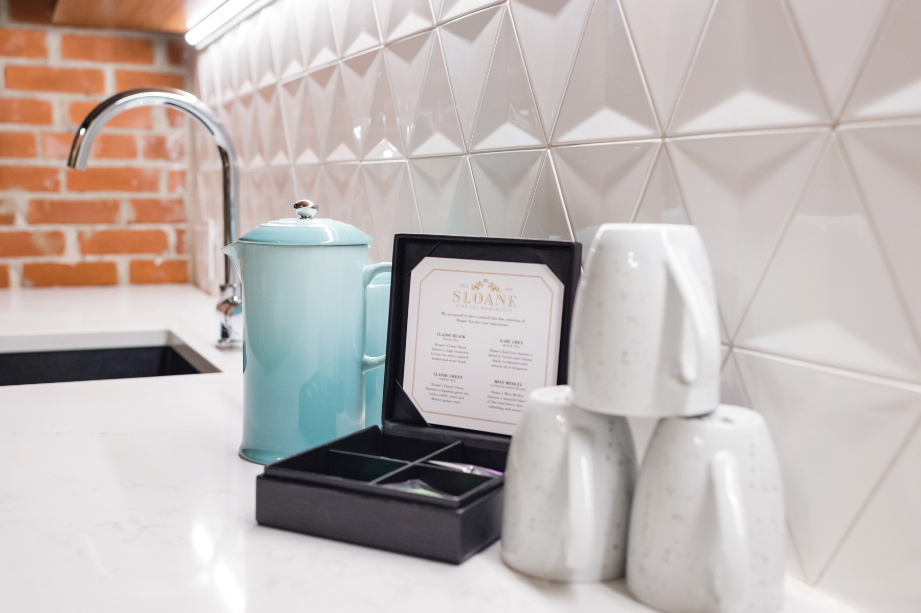 The Vault Suite - Sloane Tea & French Press