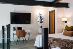 The Wall Suite - Loft Bedroom