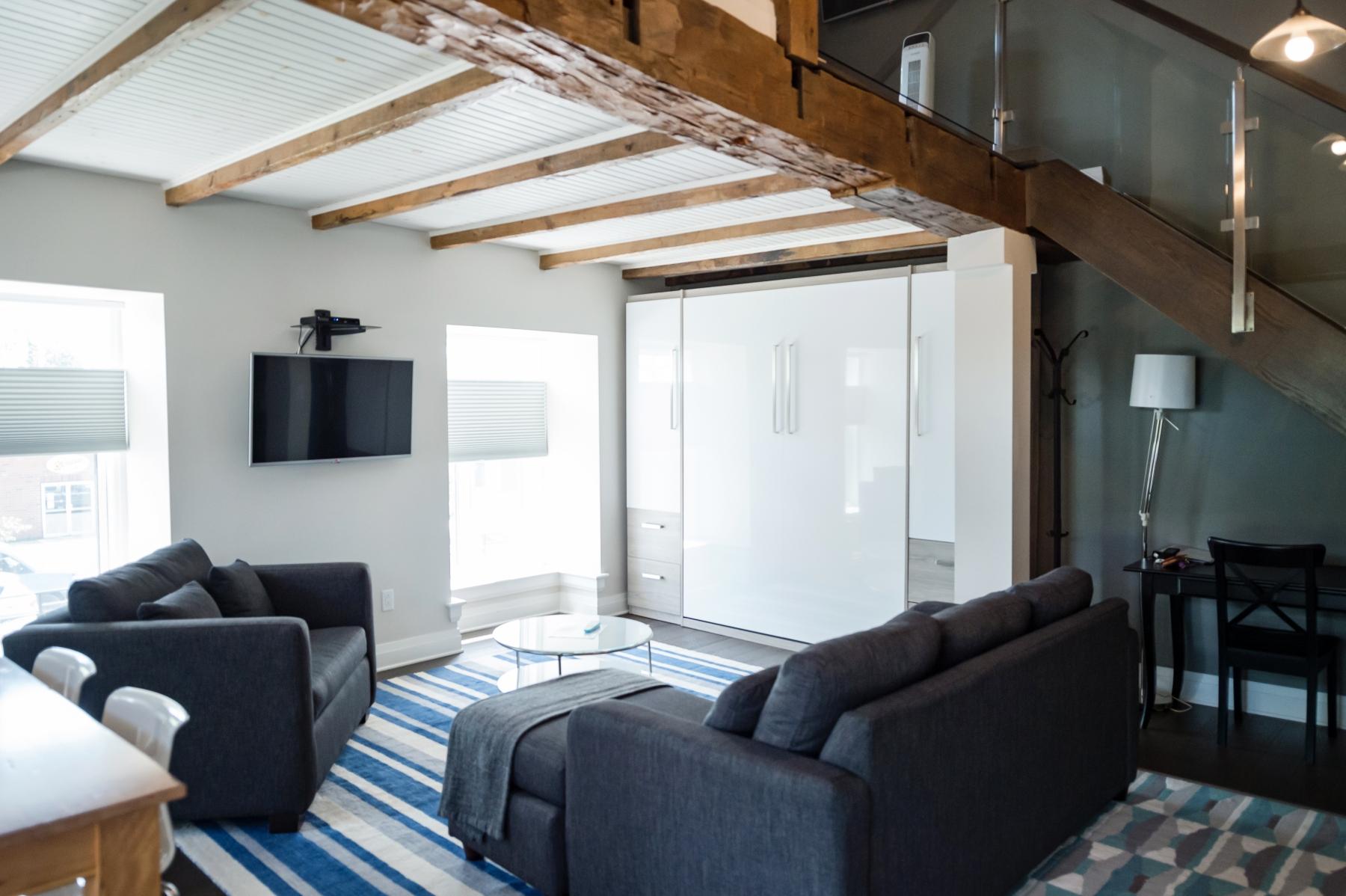 Loft Suite 1 - Living Area