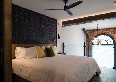 The nest suite bedroom